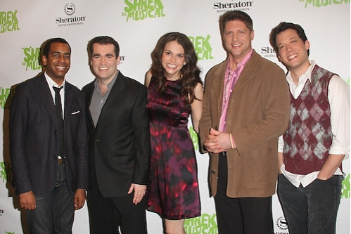Photo Coverage: SHREK THE MUSICAL Cast & Creative Team ...