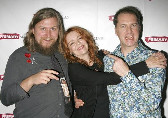 Michael Chernus, Didi O'Connell and Daniel Jenkins