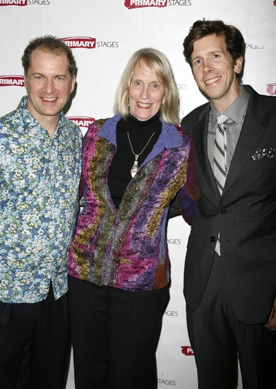 Daniel Jenkins, Tina Howe and Robert Stanton   Photo