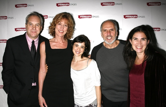 Lee Blessing, Christine Lahti, Laura Odeh, Michael Cristofer and Maria Mileaf