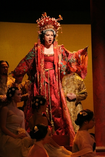 Irina Rindzuner as Princess Turandot