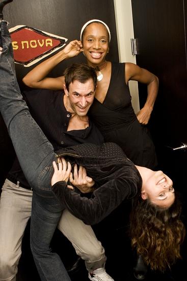 Francesca Harper, Chad Schiro and Katrina Yaukey