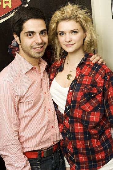 Satya Bhabha and Megan Ferguson