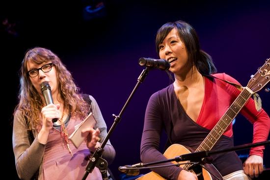 Sara Schaefer and Becky Yamamoto