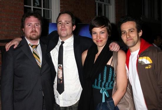 Mark Schultz, Patch Darragh, Rebecca Henderson, and David Ross