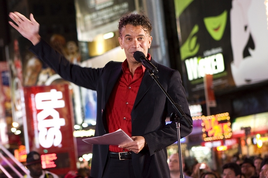Photo Coverage: Inaugural Lighting of the New TKTS Booth