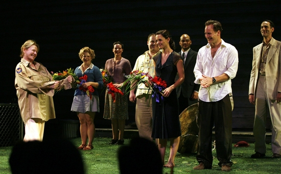 Photo Coverage: ALL MY SONS Arrivals and Curtain Call