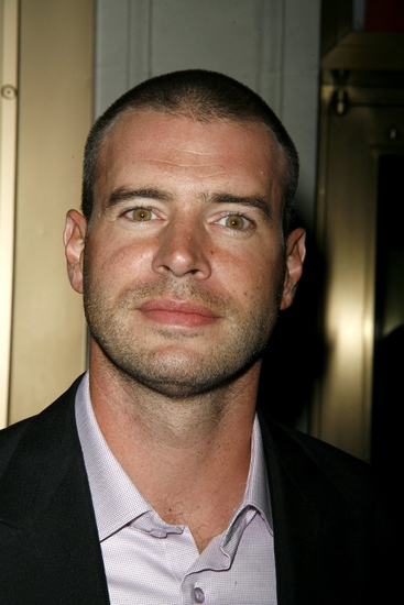 Scott Foley at ALL MY SONS Arrivals and Curtain Call