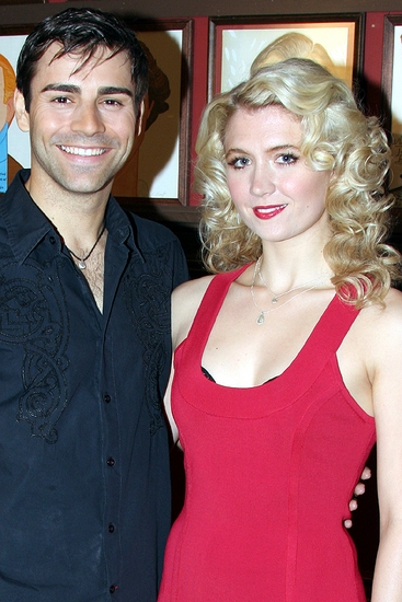 Photo Flash: Scarlett Strallen and Adam Fiorentino Join MARY POPPINS on Broadway