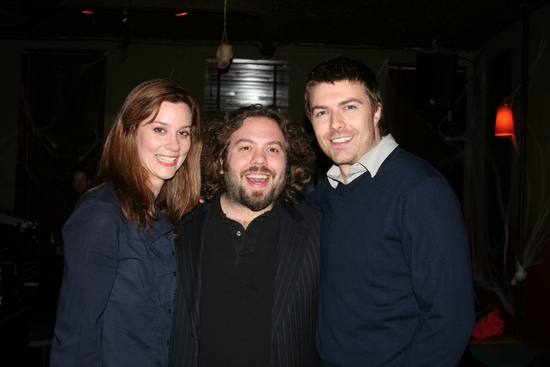 Erica Newhouse, Dan Fogler and Noah Bean at Stage 13 Benefit for RISE AND FALL OF ANNIE HALL
