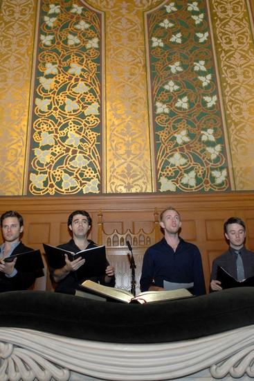 Photo Flash:' LILIES' Staged Reading at Middle Church