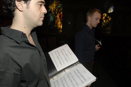 Saum Eskandani and Matt Mager