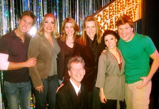 Michael West, Gina Kreiezmar, Heidi Blickenstaff, Susan Blackwell, Christina Bianco, Jared Bradshaw and kneeling, David Caldwell