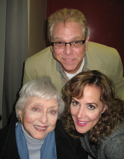 Stuart Ross, Celeste Holm and Janine LaManna