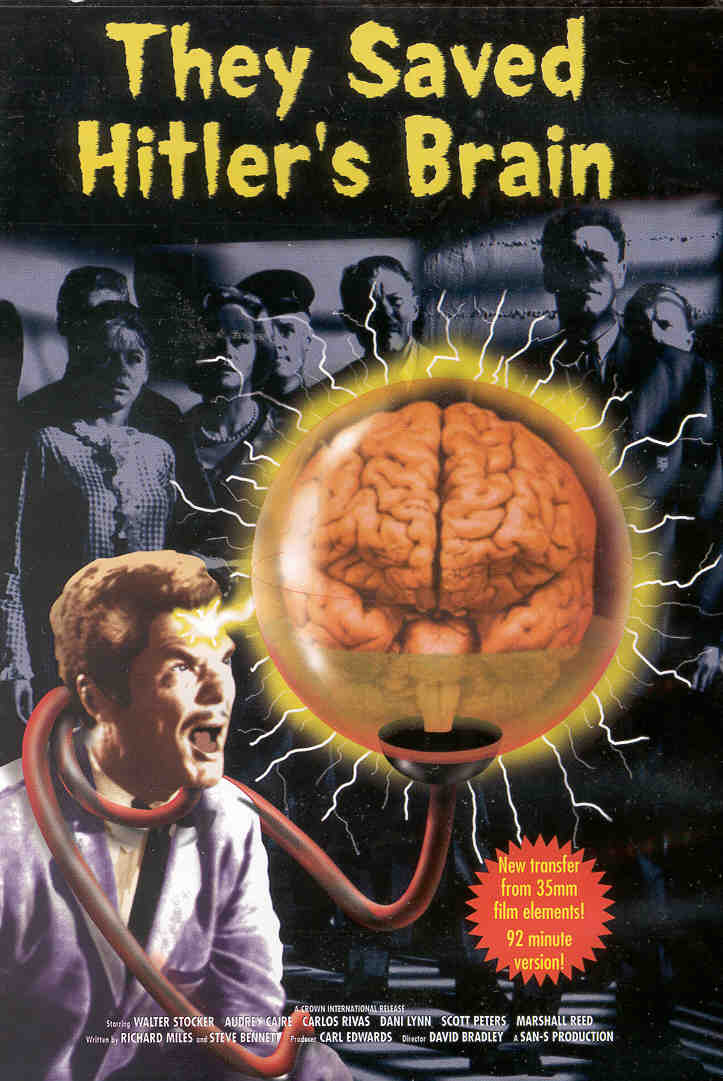 THEY SAVED HITLER'S BRAIN Returning As Sci-Fi Musical Comedy Film