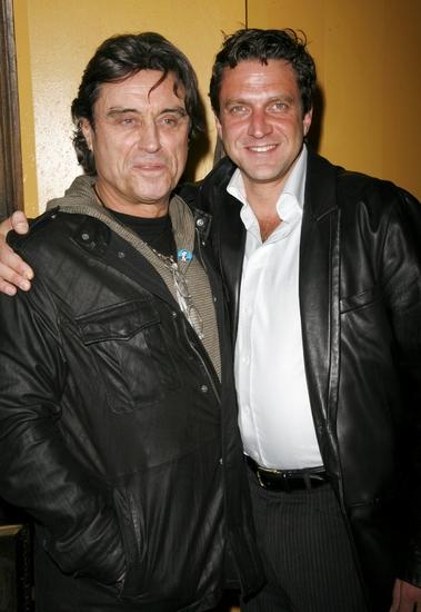 Ian McShane and Raul Esparza
