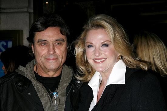 Ian McShane and wife