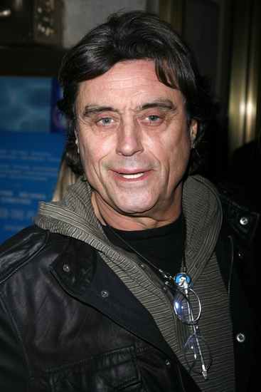 Ian McShane at SPEED-THE-PLOW Red Carpet Arrivals