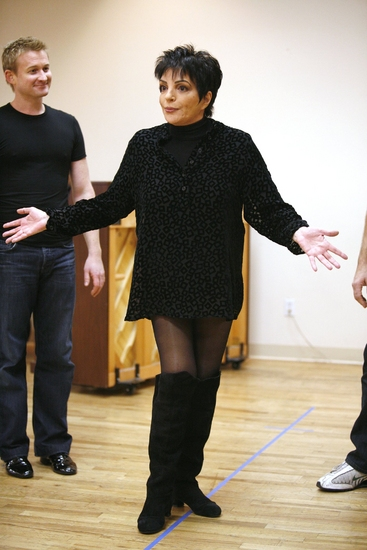 Photo Coverage: Liza's at the Palace...! Rehearsal Performance