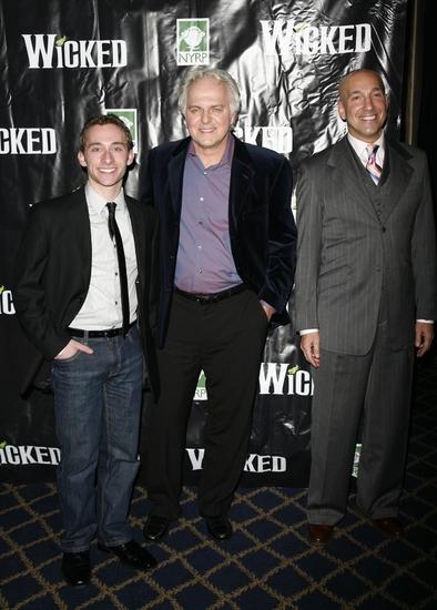 Ben Liebert, PJ Benjamin and Timothy Britten Parker