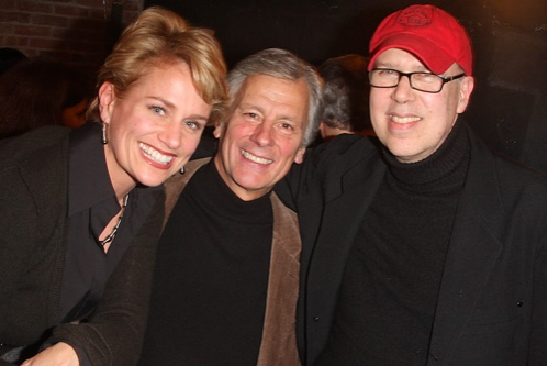Cady Huffman, Producer Kurt Peterson, and Director Larry Moss