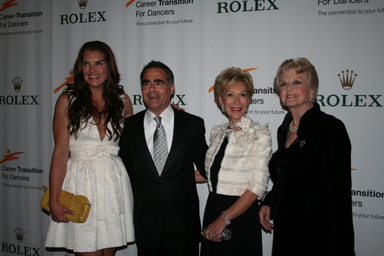 Brooke Shields, Allen Brill, Anka K. Palitz and Angela Lansbury