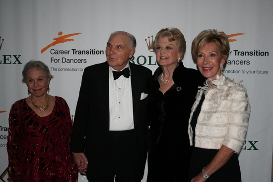 Marge Champion, Donald Saddler, Angela Lansbury and Anka K. Palitz