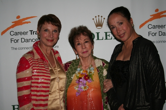 Cynthia Gregory, Sono Osato and Virginia Johnson