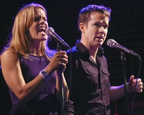 Amy Spanger and Christian Campbell
