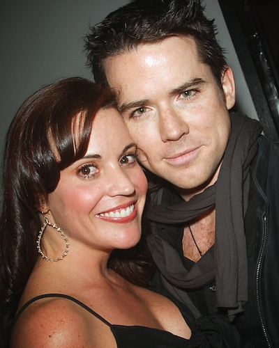 Jenna Leigh Green and Christian Campbell