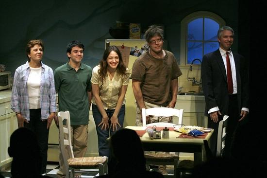 Maggie Burke, Gio Perez, Natalie Gold, Michael Hayden and Michael Warner