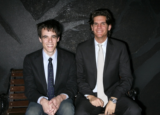 Steven Levenson (Playwright) and Alex Timbers (Director)