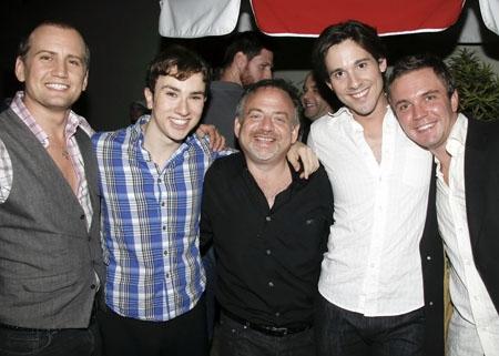 Chris Isaacson, Ryan Raftery, Marc Shaiman, Daniel Lincoln and Shane Scheel