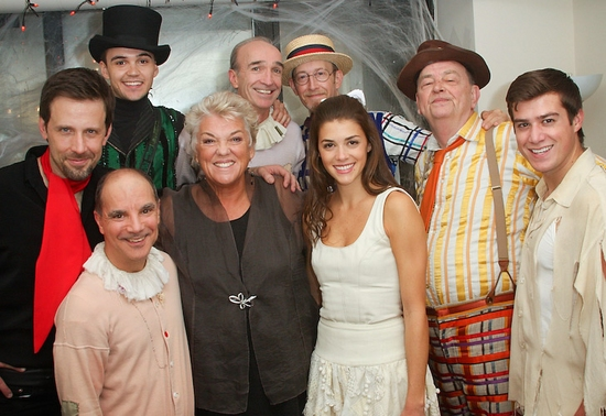 Photo Coverage: Tyne Daly Visits THE FANTASTICKS