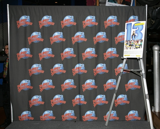 Photo Coverage: Cast of '13' Hand Print Ceremony at Planet Hollywood