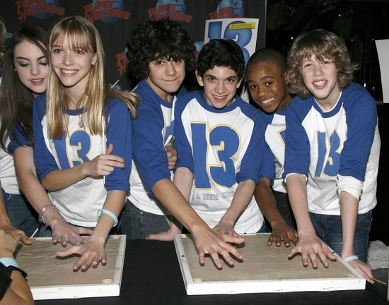 Elizabeth Egan Gillies, Delaney Moro, Joey La Varco, Al Calderon, Malik Hammond and E Photo