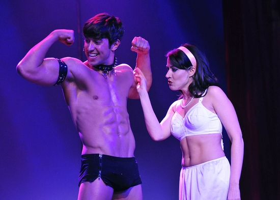 Photo Flash: Nick Adams in Lyric's THE ROCKY HORROR SHOW