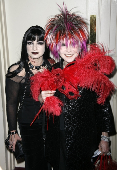 Gloria Estefan and Cindy Adams