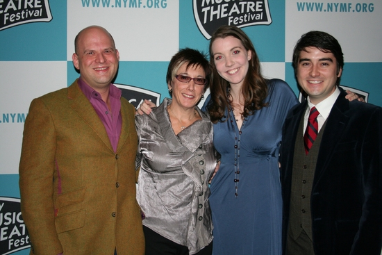 Stephen Kocis, Robyn Goodman, Jessica White and Josh Fielder