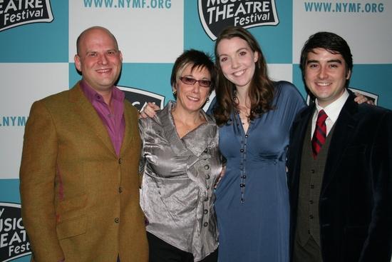 Stephen Kocis, Robyn Goodman, Jessica White and Josh Fielder   Photo
