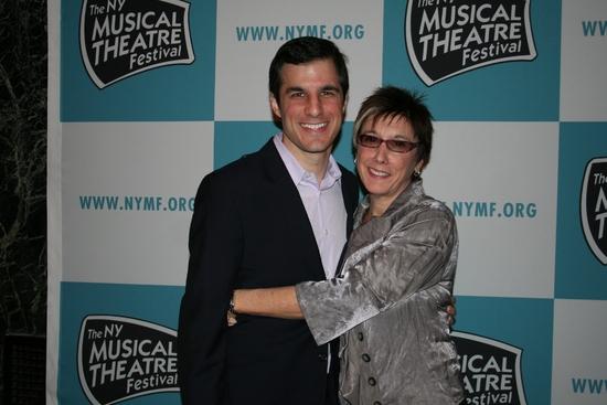 Ken Davenport and Robyn Goodman   Photo