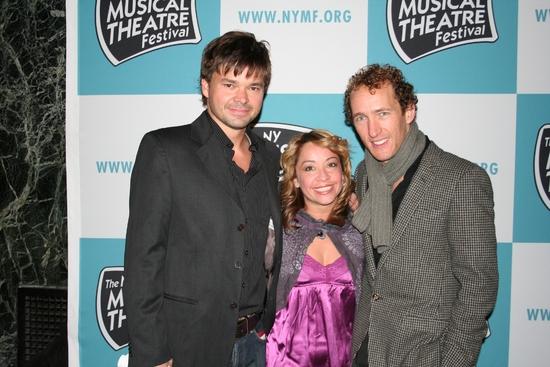 Hunter Foster, Jennifer Cody and Jeffrey Seller
