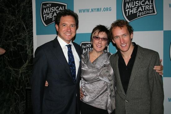 Kevin McCollum, Robyn Goodman and Jeffrey Seller