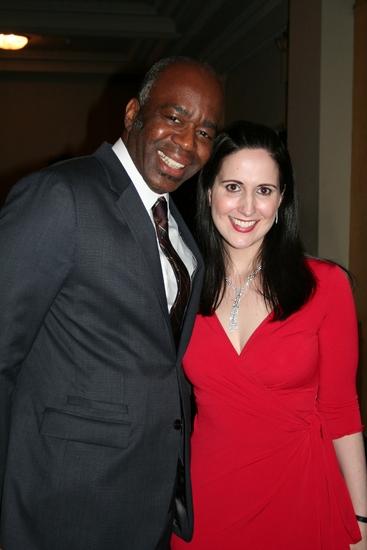 Ken Roberson and Stephanie D'Abruzzo   Photo