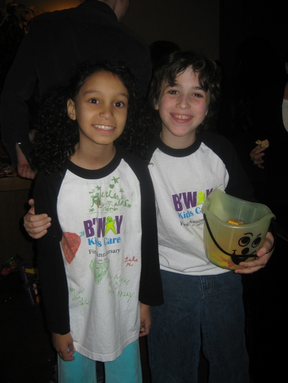 Photo Flash: Broadway Kids Care Make Halloween Pails for Freedom House