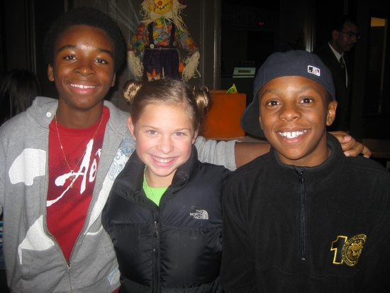 J.J. Singleton (The Little Mermaid), Gabby Malek (Chitty Chitty Bang Bang), Guy Barfield III (The Lion King)