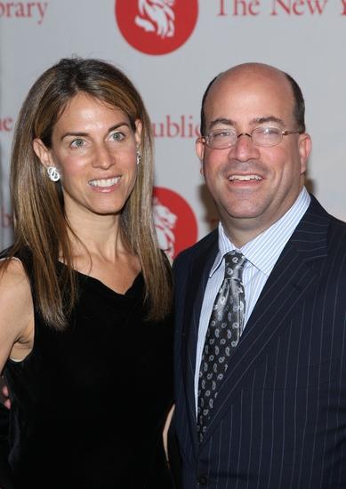 Caryn Zucker and Jeff Zucker