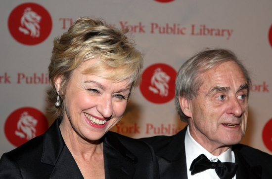 Tina Brown and husband Harry Evans