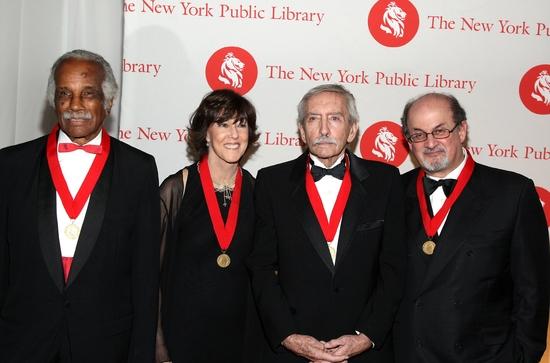 Ashley Bryan, Nora Ephron, Edward Albee and Salman Rushdie