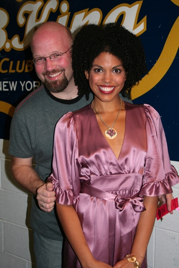Scott Coulter and Karla Mosley   Photo